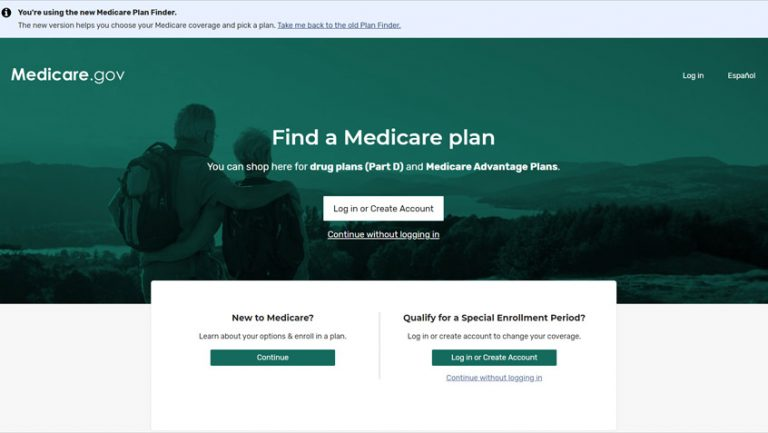 Step to use the Medicare Plan Finder Tool