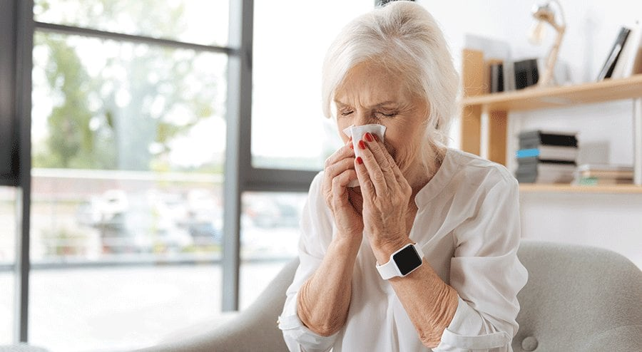 Tips for Seniors for Staying Healthy During Cold and Flu Season
